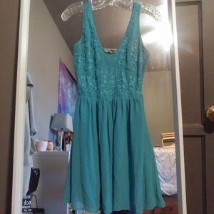 Forever 21 Blue sun dress